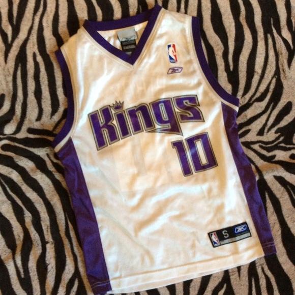 77a80e8f Reebok NBA Shirts & Tops | Sacramento Kings Mike Bibby 10 Jersey ...